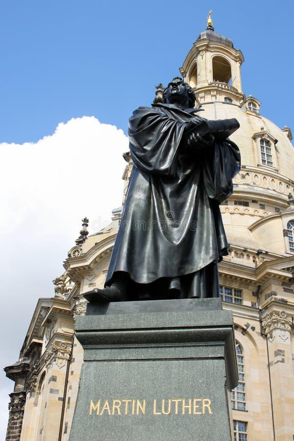 Δρέσδη Martin Luther 04 στοκ φωτογραφία