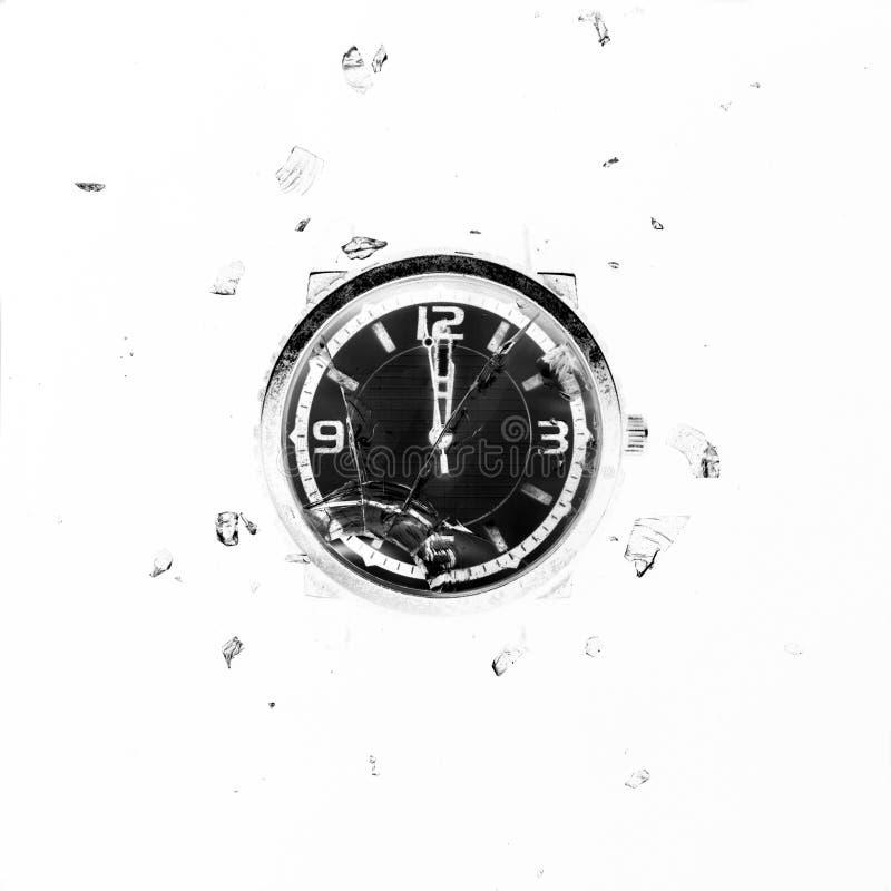 Δραματική έννοια θανάτου και χρόνου στοκ φωτογραφίες