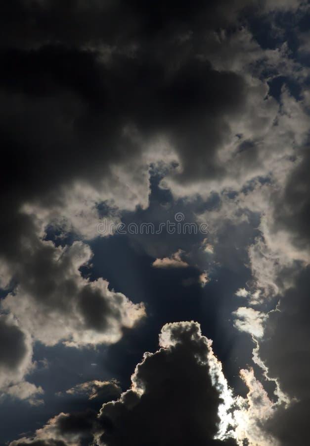 Δραματικός σχηματισμός σύννεφων στοκ φωτογραφία με δικαίωμα ελεύθερης χρήσης