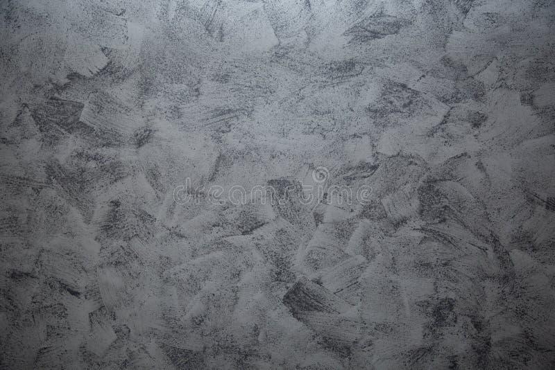 Δραματικό γκρίζο grunge άνευ ραφής πετρών ντεκόρ υποβάθρου ασβεστοκονιάματος σύστασης ενετικό Γκρίζα άνευ ραφής σύσταση ασβεστοκο στοκ φωτογραφίες με δικαίωμα ελεύθερης χρήσης