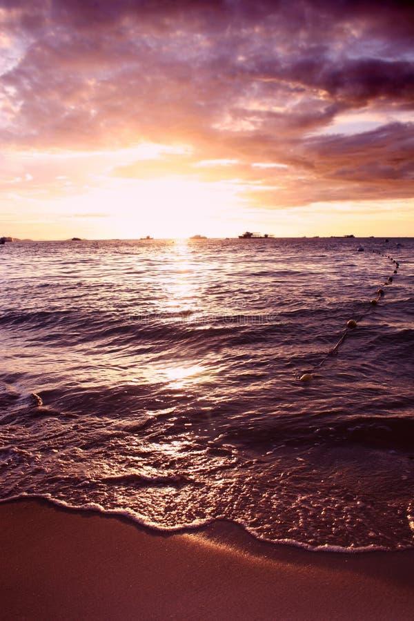 δραματικό ηλιοβασίλεμα &t στοκ εικόνες