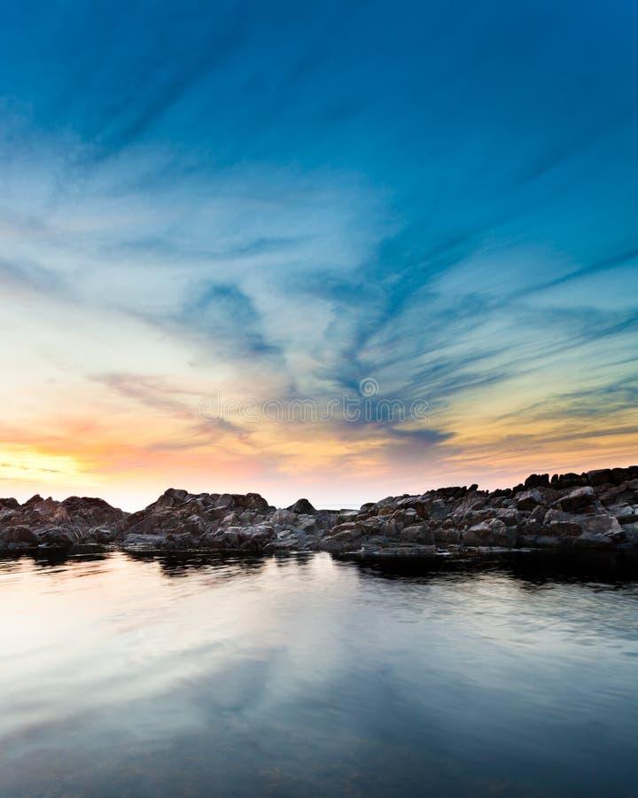 δραματικό seascape στοκ εικόνα με δικαίωμα ελεύθερης χρήσης
