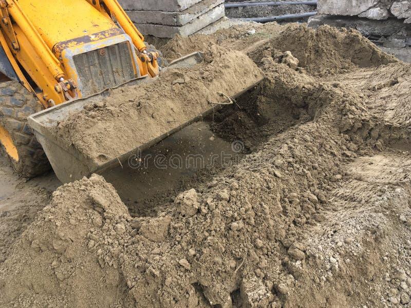 Δραστηριότητα εργοτάξιων οικοδομής στοκ εικόνες με δικαίωμα ελεύθερης χρήσης