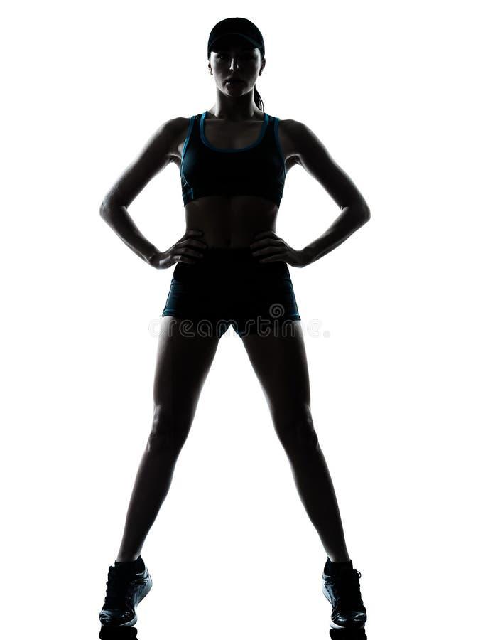 Δρομέας γυναικών jogger στοκ εικόνες