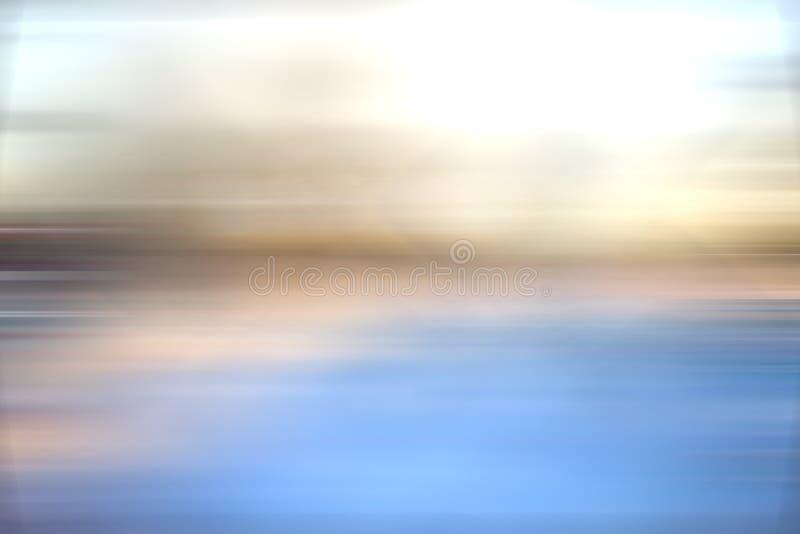 Δροσίστε την μπλε θαμπάδα υποβάθρου στοκ φωτογραφίες