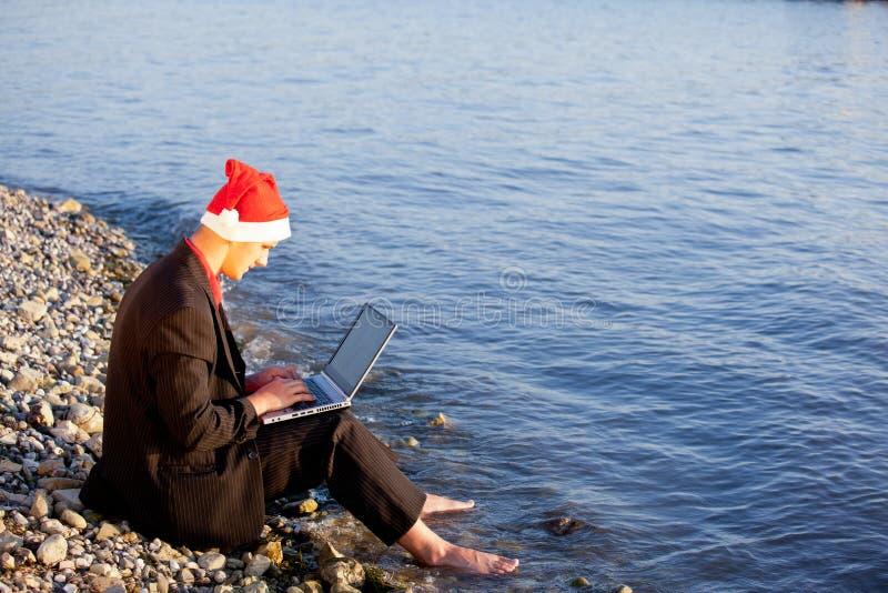 Δροσερός Άγιος Βασίλης στοκ εικόνες με δικαίωμα ελεύθερης χρήσης