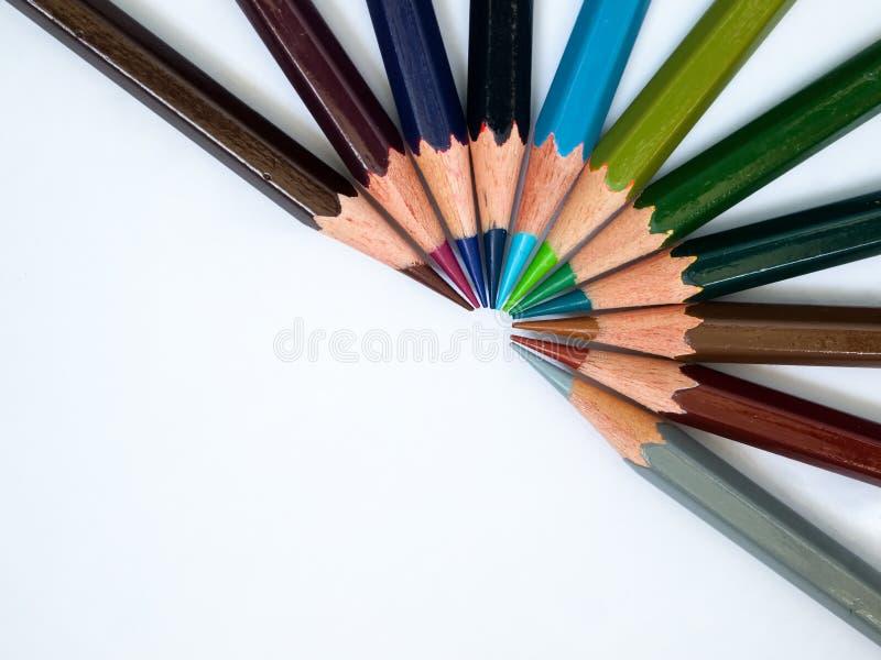 δροσερός τόνος μολυβιών &c στοκ εικόνες