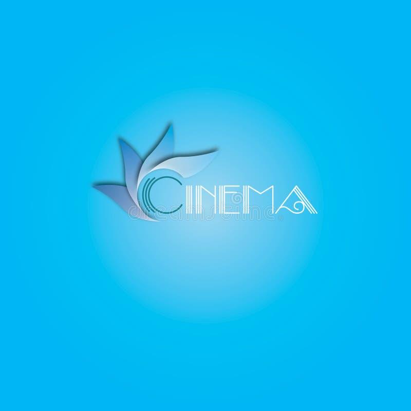 Δροσερό λογότυπο για τις διαφορετικές επιχειρήσεις στοκ εικόνα