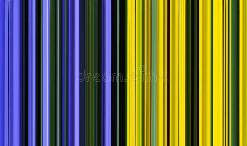Δροσερό πολύχρωμο υπόβαθρο σύστασης υψηλής τεχνολογίας αφηρημένο κίτρινος-μπλε ελεύθερη απεικόνιση δικαιώματος