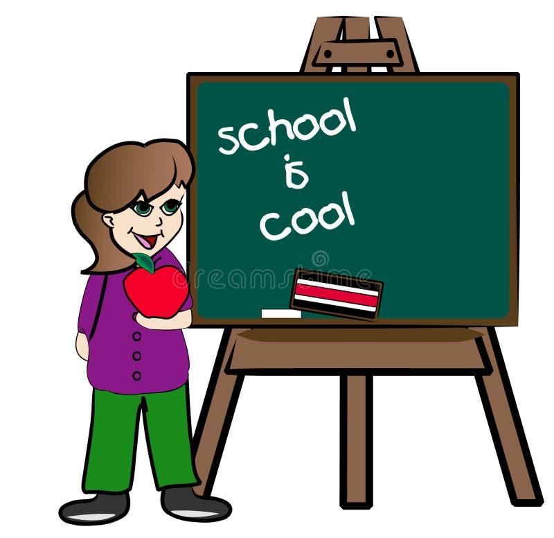 δροσερό σχολείο στοκ εικόνες με δικαίωμα ελεύθερης χρήσης