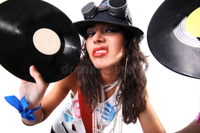 δροσερό DJ στοκ εικόνες με δικαίωμα ελεύθερης χρήσης
