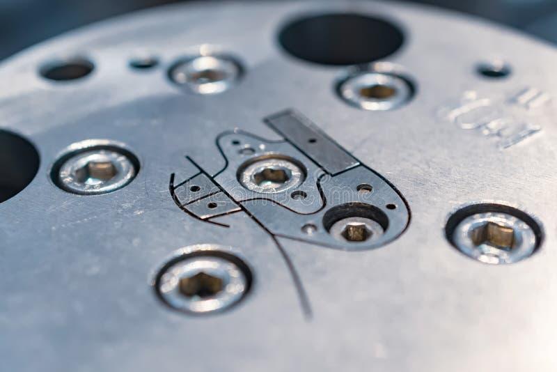 Δροσισμένος νερό κύβος για το βιομηχανικό εξωθητή στοκ εικόνες με δικαίωμα ελεύθερης χρήσης
