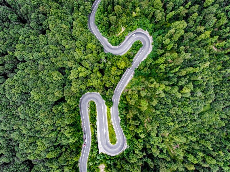 Δρόμοι άνωθεν στοκ εικόνα