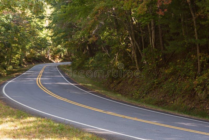 Δρόμοι βουνών στοκ εικόνες με δικαίωμα ελεύθερης χρήσης