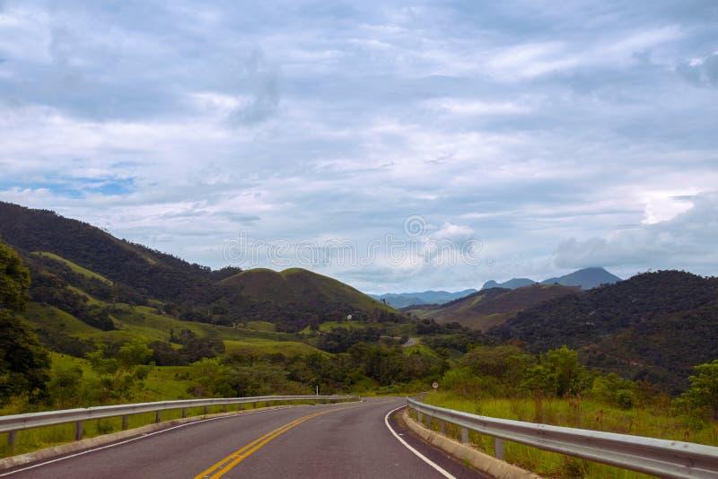 Δρόμοι Βραζιλία στοκ εικόνα με δικαίωμα ελεύθερης χρήσης