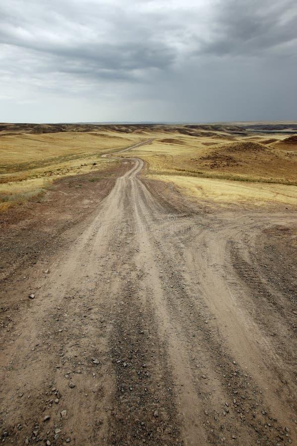 δρόμοι ερήμων στοκ εικόνες με δικαίωμα ελεύθερης χρήσης