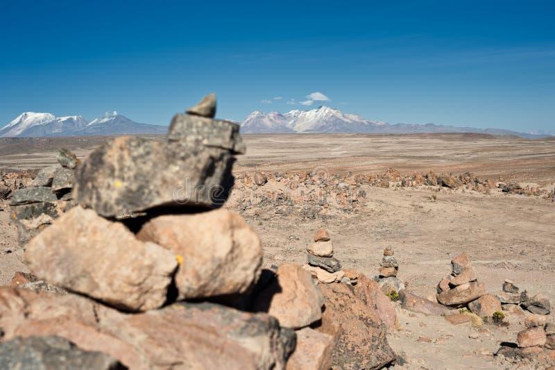 Δρόμος από Arequipa σε Chivay στοκ εικόνες