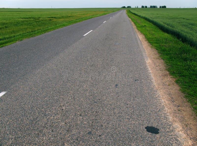 δρόμος ασφάλτου στοκ εικόνες