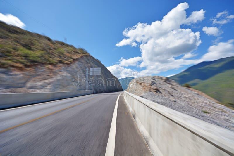 Δρόμος ασφάλτου της Νίκαιας στοκ φωτογραφία με δικαίωμα ελεύθερης χρήσης