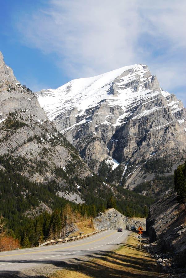 δρόμος βουνών δύσκολος στοκ εικόνα