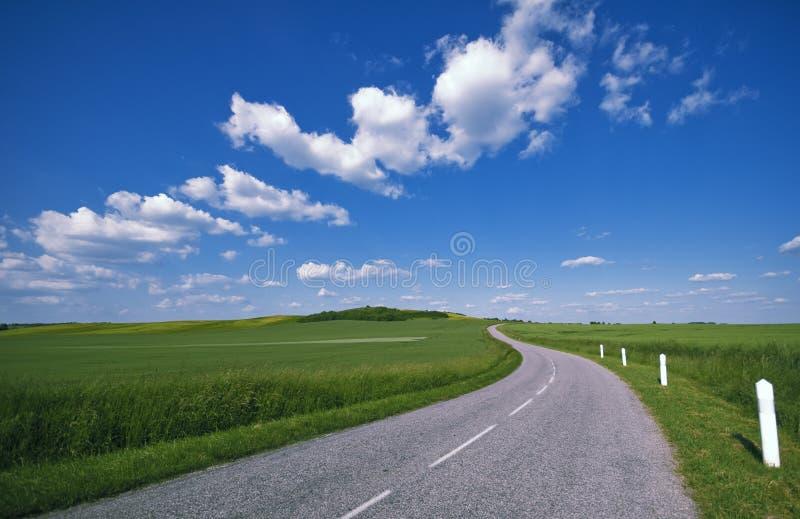 δρόμος επαρχίας στοκ εικόνα με δικαίωμα ελεύθερης χρήσης