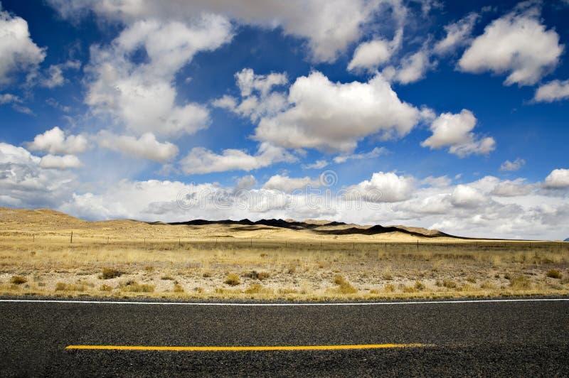 δρόμος ερήμων στοκ εικόνες με δικαίωμα ελεύθερης χρήσης