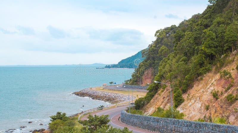Δρόμος θάλασσας στοκ φωτογραφίες