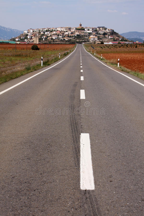 δρόμος ισπανικά στοκ εικόνες
