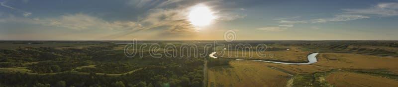 Δρόμος κοιλάδων ποταμών στοκ εικόνα