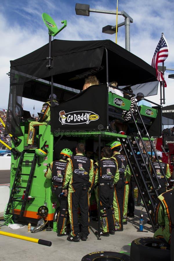 Δρόμος κοιλωμάτων NASCAR διεθνές Raceway του Phoenix στοκ φωτογραφία με δικαίωμα ελεύθερης χρήσης