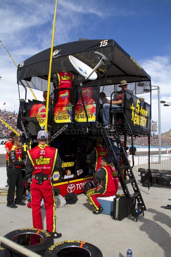 Δρόμος κοιλωμάτων NASCAR διεθνές Raceway του Phoenix στοκ φωτογραφίες