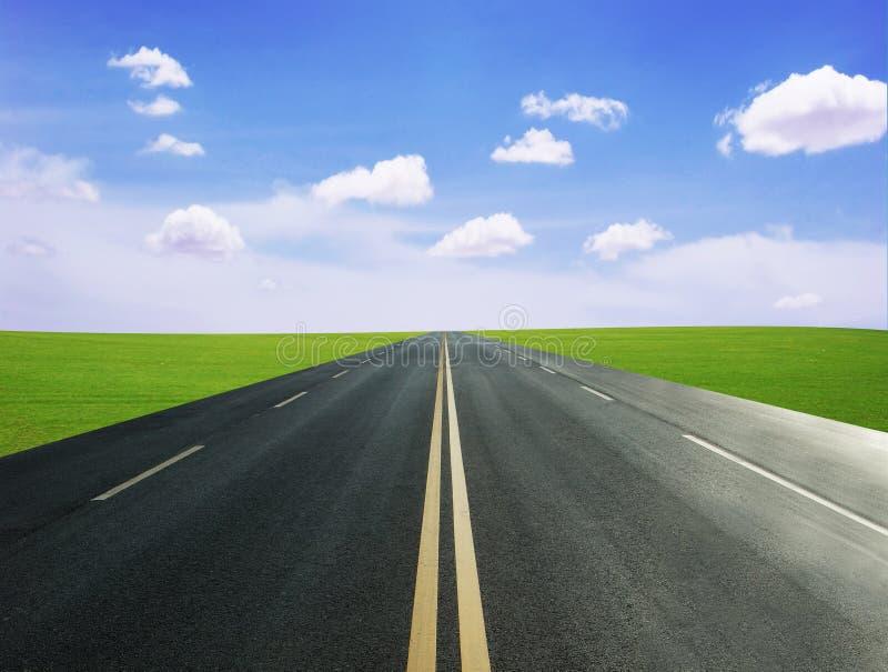 δρόμος λιβαδιών στοκ εικόνα με δικαίωμα ελεύθερης χρήσης