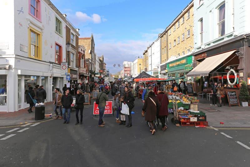 Δρόμος Λονδίνο Portobello στοκ εικόνες με δικαίωμα ελεύθερης χρήσης
