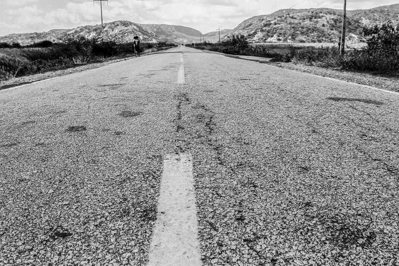 Δρόμος μέσα στη χώρα στοκ εικόνες με δικαίωμα ελεύθερης χρήσης