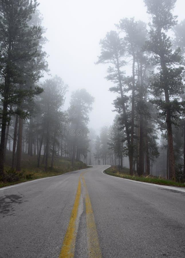 Δρόμος μέσω των μαύρων λόφων 2 στοκ φωτογραφία