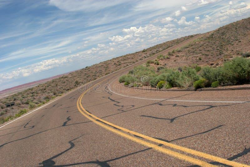 Δρόμος με πολλ'ες στροφές στοκ φωτογραφίες με δικαίωμα ελεύθερης χρήσης