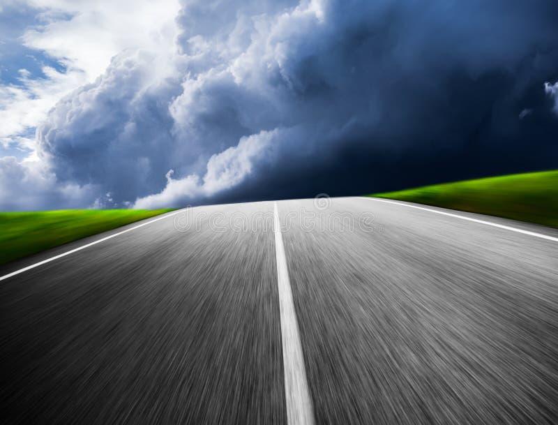 Δρόμος μπροστά στο μέλλον στοκ εικόνες
