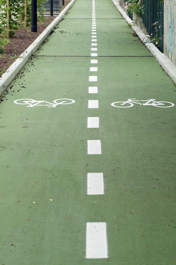 δρόμος ποδηλάτων στοκ φωτογραφία