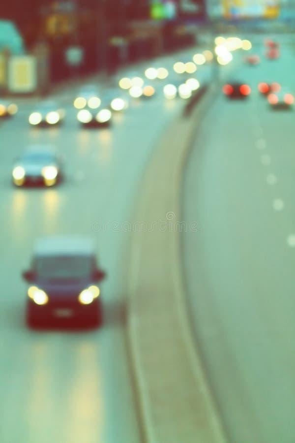 Δρόμος πόλεων νύχτας στοκ φωτογραφία με δικαίωμα ελεύθερης χρήσης