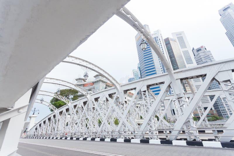 Δρόμος σε Σινγκαπούρη στοκ εικόνες