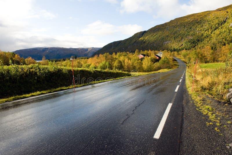 δρόμος Σκανδιναβός στοκ φωτογραφία με δικαίωμα ελεύθερης χρήσης