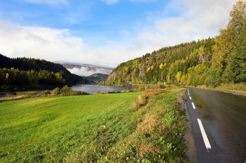 δρόμος Σκανδιναβός στοκ εικόνες με δικαίωμα ελεύθερης χρήσης
