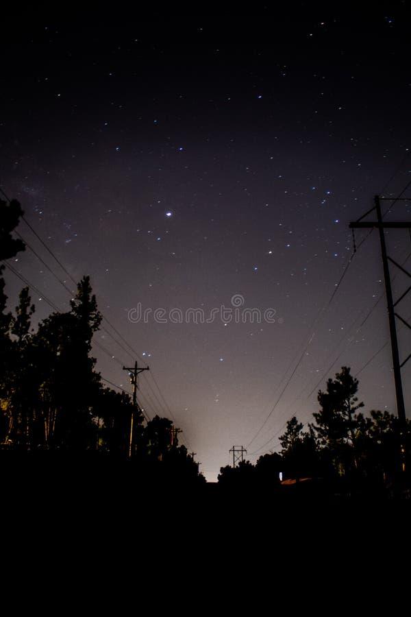 Δρόμος στα αστέρια στοκ φωτογραφίες με δικαίωμα ελεύθερης χρήσης