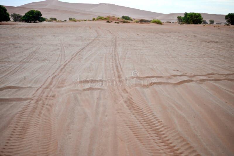 Δρόμος στην έρημο στοκ εικόνα με δικαίωμα ελεύθερης χρήσης