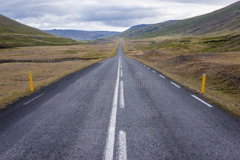 Δρόμος 1 στην Ισλανδία στοκ φωτογραφίες
