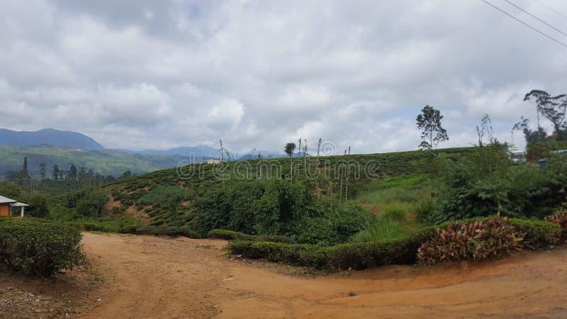 Δρόμος στη λοφώδη περιοχή στοκ φωτογραφία με δικαίωμα ελεύθερης χρήσης