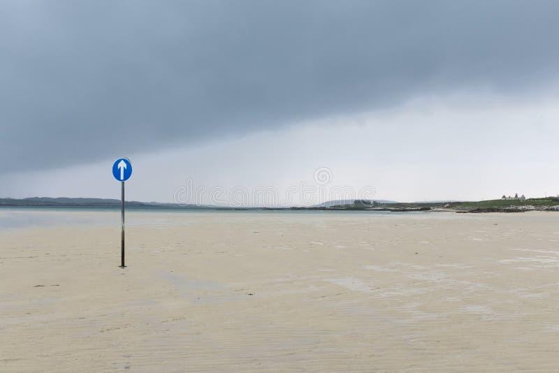 Δρόμος στον άγνωστο προορισμό στοκ εικόνες με δικαίωμα ελεύθερης χρήσης