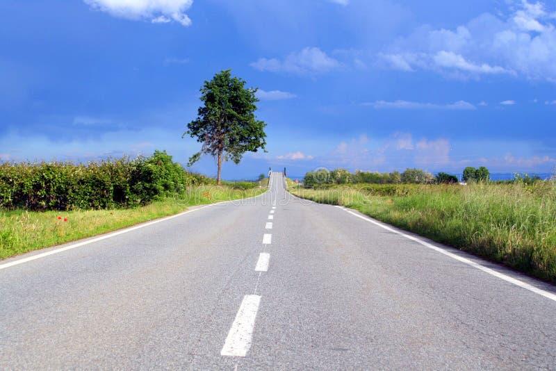 Δρόμος στον ουρανό στοκ εικόνες