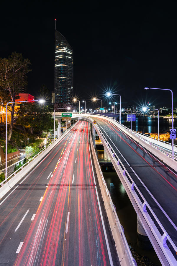 Δρόμος στον πύργο στοκ φωτογραφία με δικαίωμα ελεύθερης χρήσης