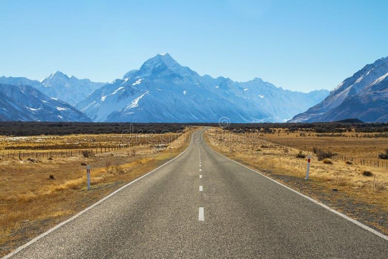 Δρόμος στο βουνό στοκ φωτογραφίες